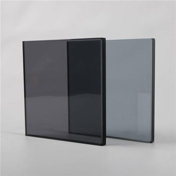 Wholesale 12mm Tailing Tinted Float Laminated Tempered Glass Brown Laminate Tempered Glass Door Laminated Glass