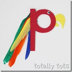 P is for parrot craft