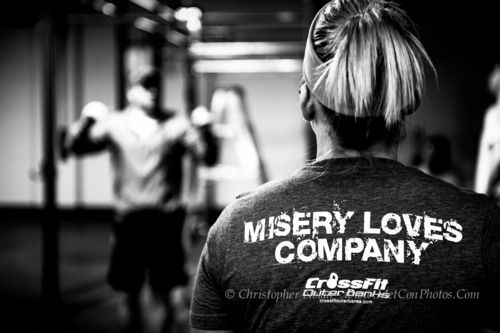 CrossFit: Misery Loves Company