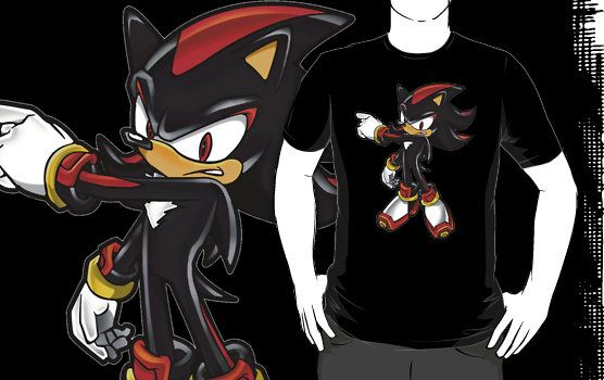 Shadow The Hedgehog Pose TShirt Sonic The Hedgehog