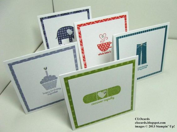 Patterned 3x3 Occasions by CLOcards - Cards and Paper Crafts at Splitcoaststampers