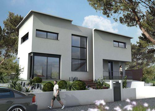 Maison design - Détail du plan de Maison design   Faire construire sa maison