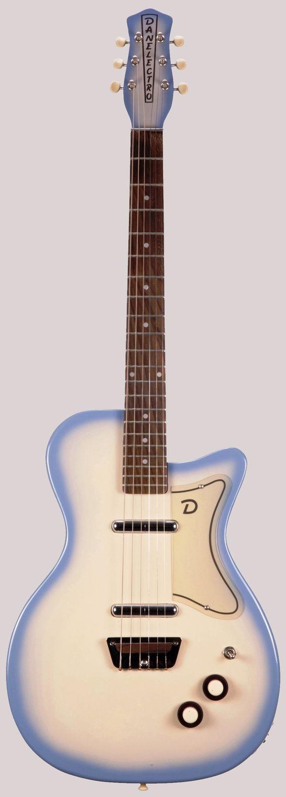 Danelectro U2 reissue guitar