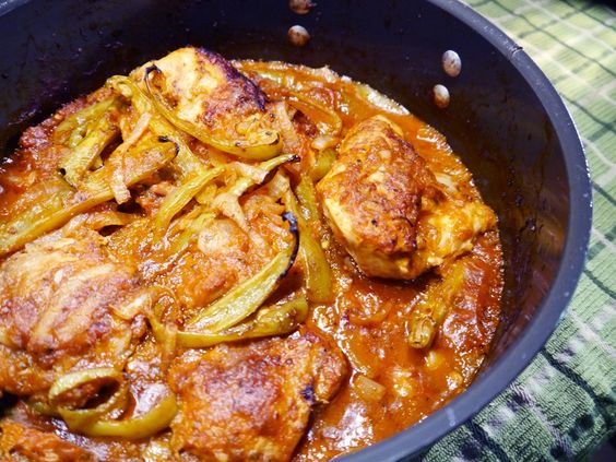 Chicken Cacciatore with Cubanelle Peppers                              …