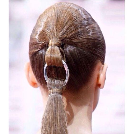 Hair jewels love! #hair #inspiration #runway