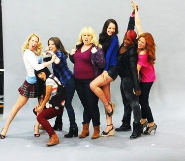 Pitch perfect. The Acapella girls
