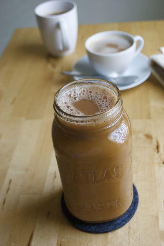 dirty chai latte DIY