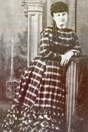 Above, Mattie Blaylock, one of Wyatt Earp's wives (whom he deserted). She became a prostitute in Globe, Arizona after Earp left her. She later (1888) died in Pinal, Arizona, of an overdose of Laudanum, probably a suicide.