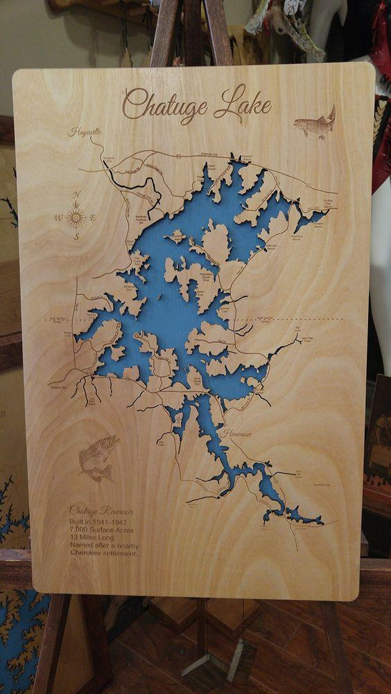Usa Map North Carolina%0A map north carolina georgia chatuge lake north carolina georgia standout  wood map wall