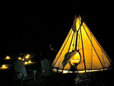 Tipi Village Retreat, Oregon
