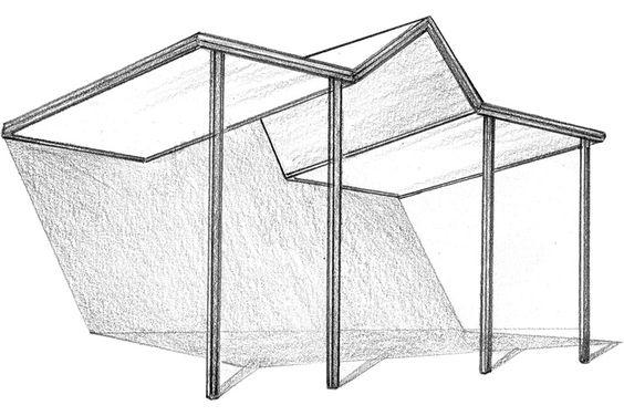 Gable and Skillion Combination Design
