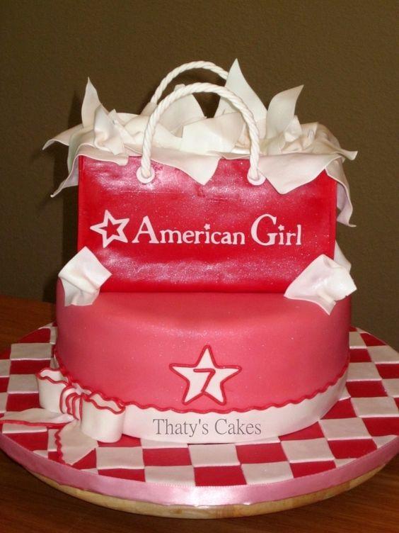 @KatieSheaDesign ♡♡ #Cakes ♡♡ American Girl Cake