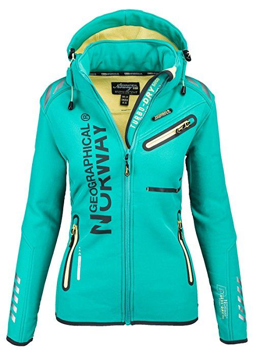 Geographical Norway/ -/ Chaqueta multifunci/ón softshell impermeable para mujer
