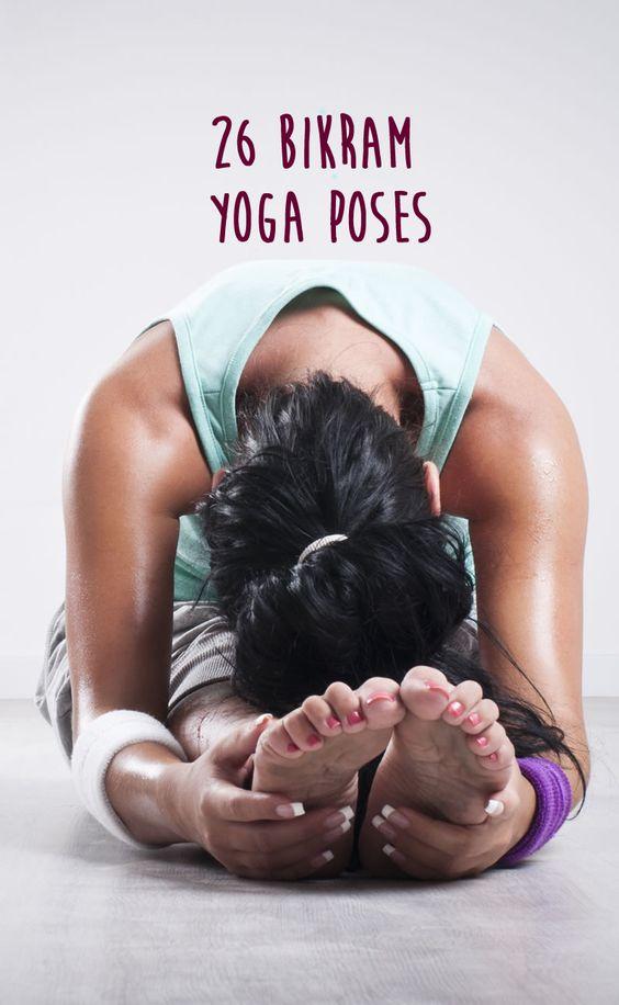 La routine du yoga bikram : les 26 postures ashtangas à enchaîner sur aufeminin.com #yoga #hotyoga #bikram
