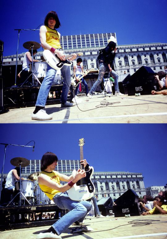 Ramones by Chester Simpson San Francisco 1979