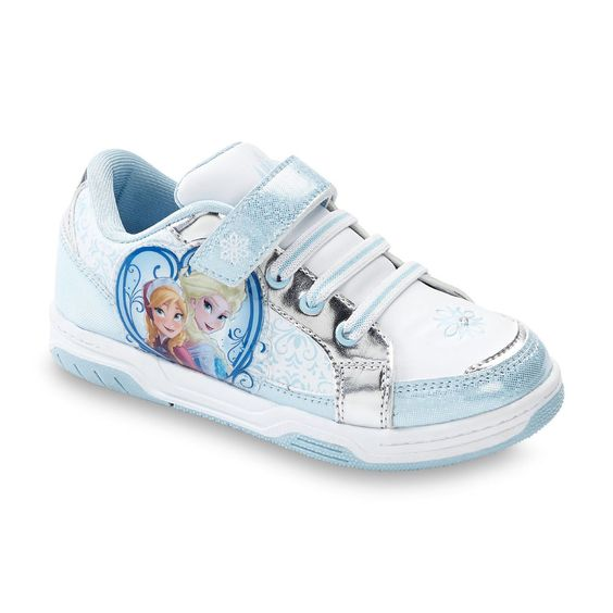 Disney Frozen Elsa Anna LIGHT-UP Shoes sneakers Toddler/Youth  #DisneyFrozen
