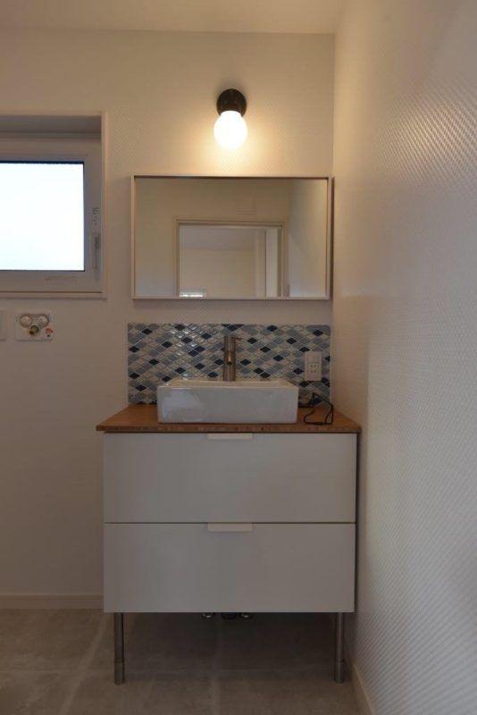 Ikea洗面台 シンプル リーズナブル 長野市リフォーム 想いをカタチへリフォームの鋼商 Ikea 洗面台 洗面台 Ikea 洗面