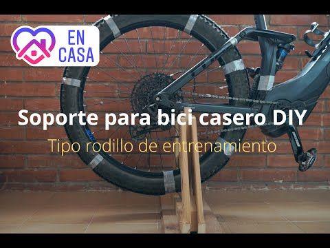 Cómo Hacer Un Soporte Para Bici Casero Tipo Rodillo Youtube Rodillos Para Bicicletas Rodillo Para Bicicleta Soportes Para Bicicletas