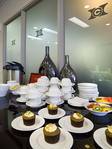 simple yet effective refreshments | Meeting Room Setup ...