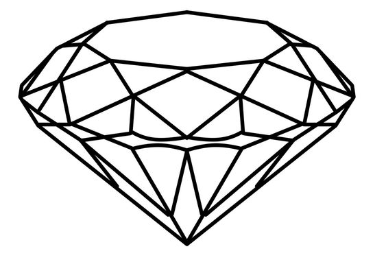 diamond drawing - Google Search | Door decs | Pinterest | Diamonds ...