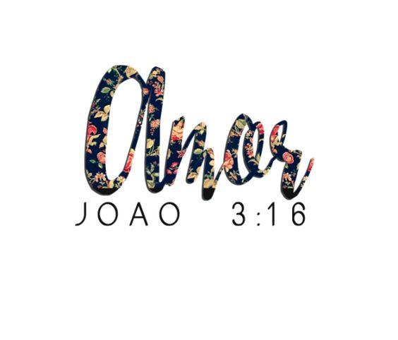 Post decorativo para imprimir amor bíblia João
