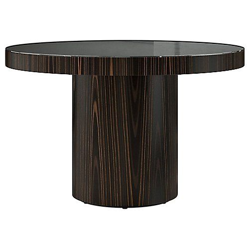 1999 63 Diameter Modloft Berkeley Dining Table Its Recessed