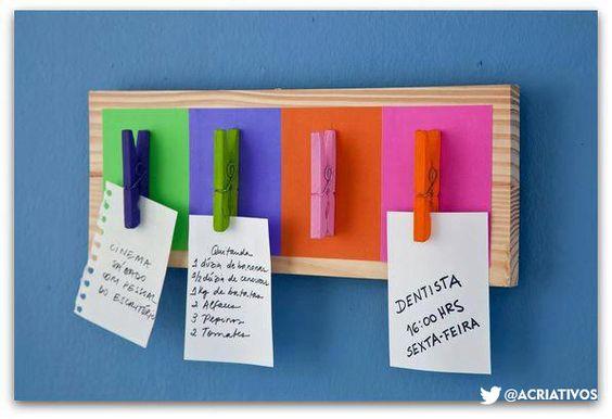 Faça você mesmo seus objetos Criativos: