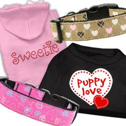 Share the love with our Valentine's Day Pet Apparel.