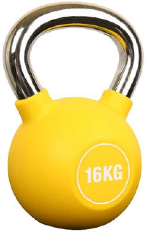 Yfmmm Kettlebell With Handle Portable Kettlebell Weights Set Vinyl Coated Comfort Grip Wide Workout In 2020 Kettlebell Weights No Equipment Workout Full Body Workout