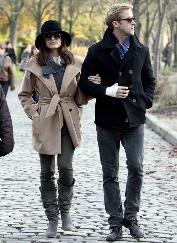 Eva Mendes e Ryan Gosling.