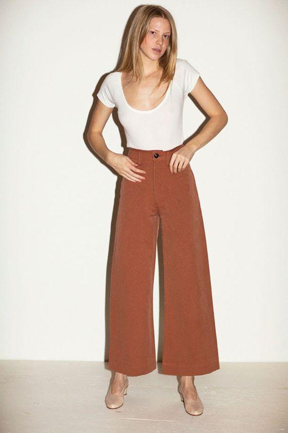 Creatures of Comfort Clothing - Caramel Maison Pant | BONA DRAG