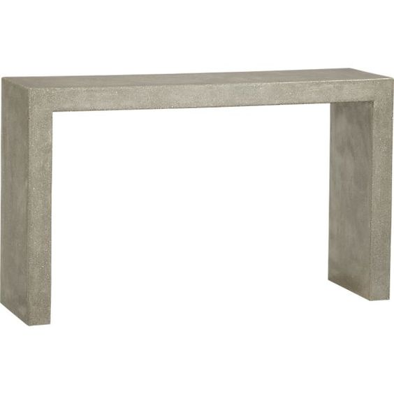 Crate And Barrel Mason Console Table Perfect For Bar