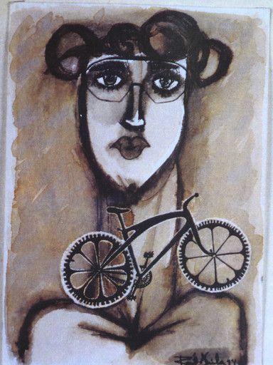 """""""Autorretrato 1994."""" de Raúl Ávila @ VirtualGallery.com"""