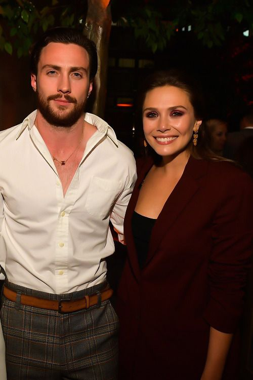 Everything Lizzie Olsen Elizabeth Olsen Aaron Taylor Johnson