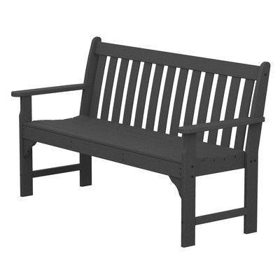 Vineyard Plastic Garden Bench at Wayfair