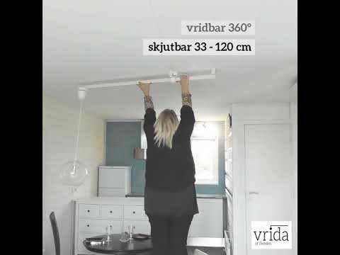 Vrida lamparm flyttar taklampan utan nya hål   Byggkatalogen
