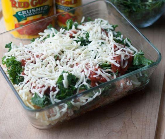 Veggie Lasagna Freezer Meal