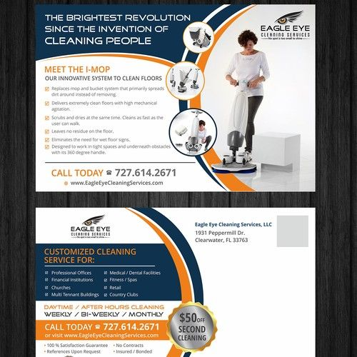 Modern Postcard For Cleaning Service High Quality Commercial Cleaning Service With Newest E Commercial Cleaning Services Innovative Systems Commercial Cleaning