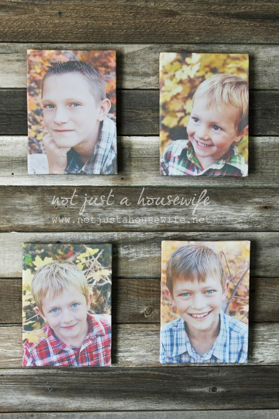 DIY Canvas Photo Prints