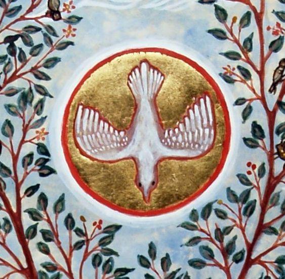 Venez Père des pauvres, Venez, Dieu de charité. Formez en moi mes prières montrez-moi la vérité, Faites descendre dans mon âme un charbon de votre feu Qui la pénètre de flamme et la remplisse de Dieu. Venez, Saint-Esprit qui faites les martyrs, Les confesseurs, les apôtres, les prophètes, les héros, les grands coeurs. C'est votre seule conduite que mon Sauveur a suivie ; Afin donc que je l'imite, conduisez-moi comme lui.  (Saint Louis-Marie Grignion de Montfort)