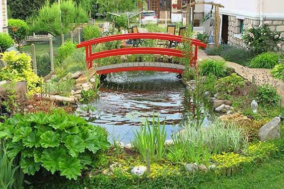 Design on pinterest - Grand bassin de jardin ...