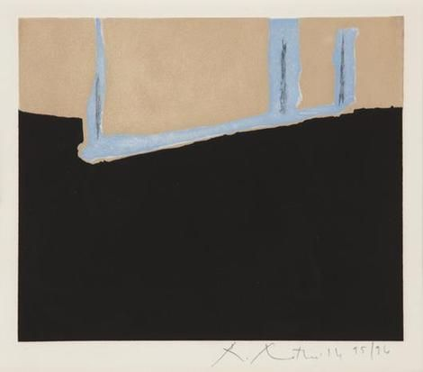 Robert Motherwell, Untitled on ArtStack #robert-motherwell #art