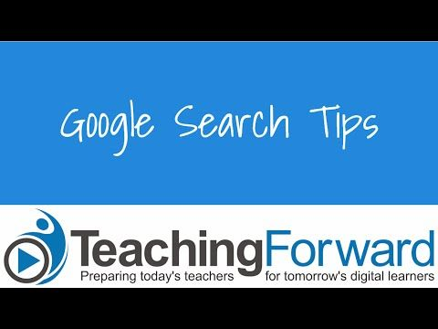 Google Search Tips_TF - YouTube