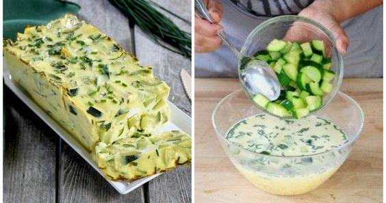 Dieses Zucchiniflanrezept eignet sich ideal als leichte Vorspeise und passt perfekt zu vielen Grillrezepten!