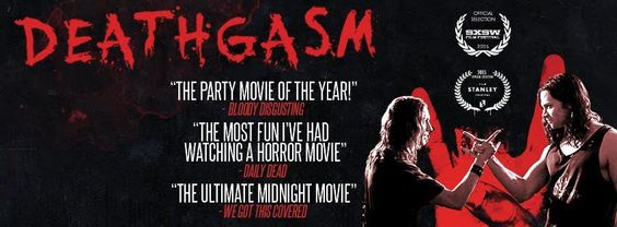 "Tonight 9pm DEATHGASM Liberty Lands @theawesomefest  bear witness to the craziest, bloodiest, and most controversial film ever to be showcased outdoors in Philadelphia, the Philly premiere of DEATHGASM!  ""closing night"" of 8 week summer program"