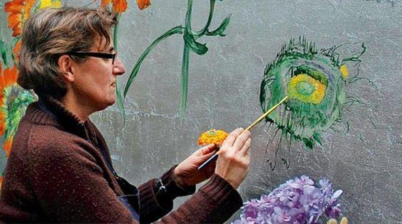 Claire Basler au bonheur des fleurs