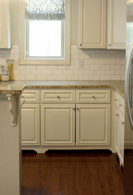 Adding Feet To Kitchen Cabinets Blog Includes A Template And Instructions It Makes For Such