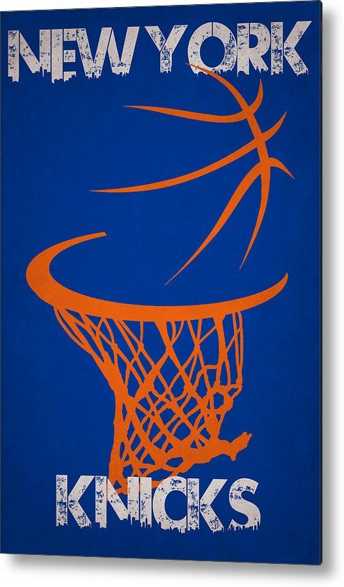 Knicks Metal Print featuring the photograph New York Knicks by Joe Hamilton