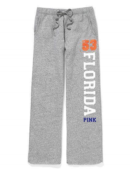 Victoria's Secret PINK University of Florida Boyfriend Pant #VictoriasSecret http://www.victoriassecret.com/pink/university-of-florida/university-of-florida-boyfriend-pant-victorias-secret-pink?ProductID=71257=OLS=true?cm_mmc=pinterest-_-product-_-x-_-x
