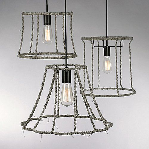 Linnet Barrel Pendant by LBL Lighting